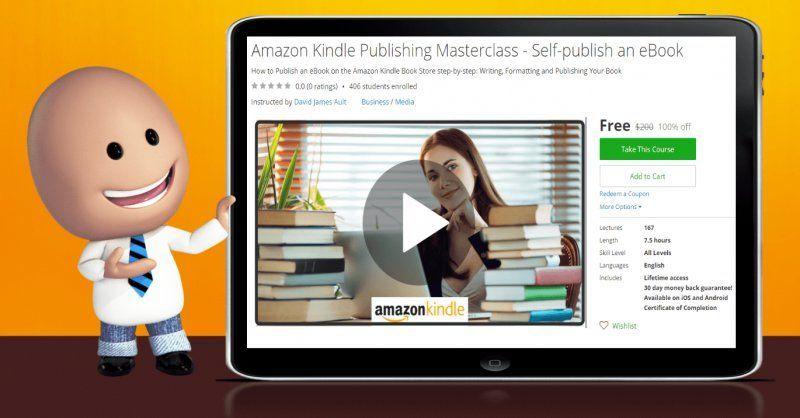 100% Off] Amazon Kindle Publishing Masterclass - Self