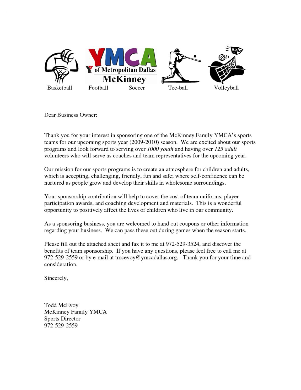Free Letters For Sports Teams Youth Sponsorship Letter Team Sports Team Fundraising Letter Do Sponsorship Letter Fundraising Letter Lettering Sports team sponsorship proposal template