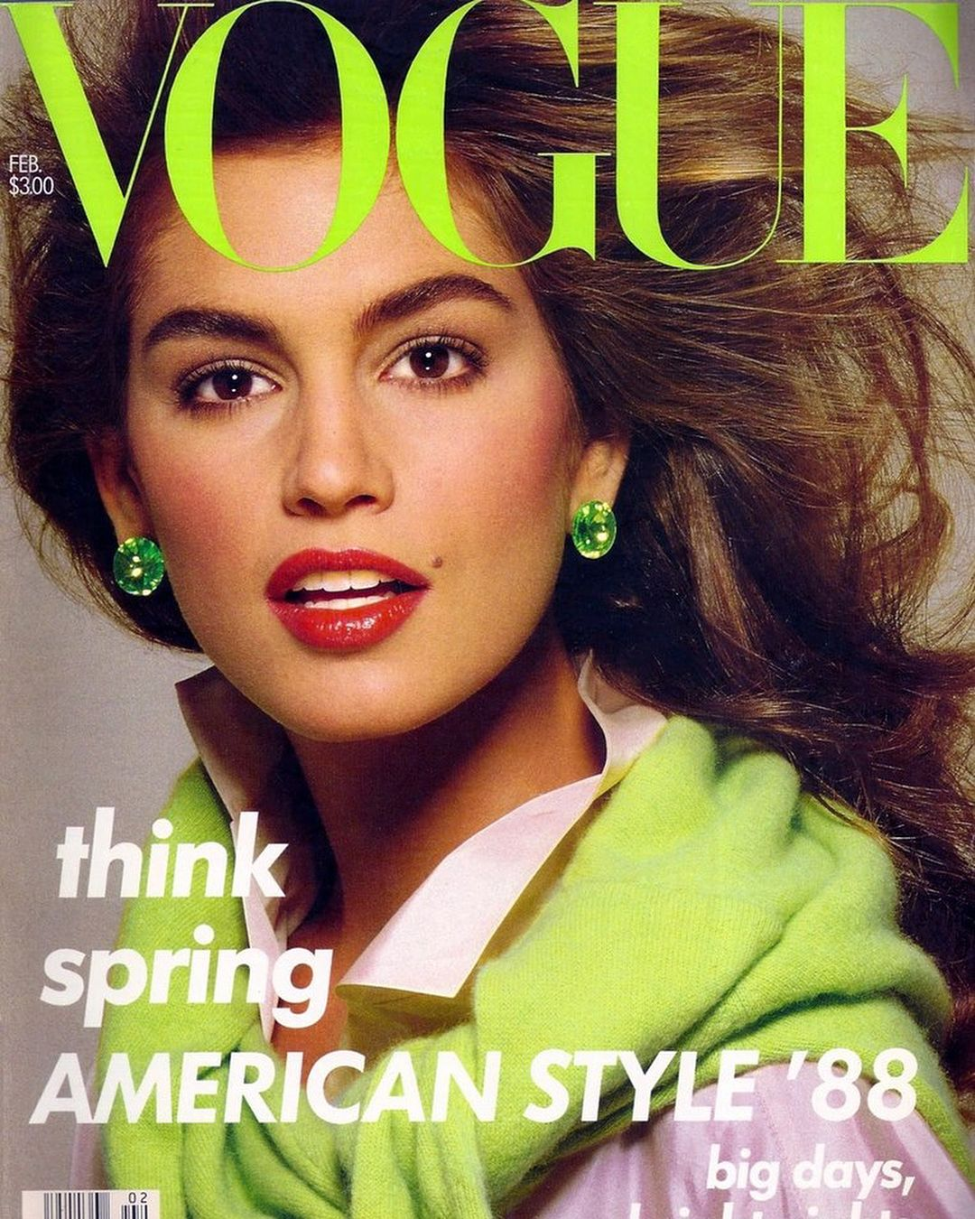 Pin by Fashion is my Oxygen on Cindy Crawford Vogue