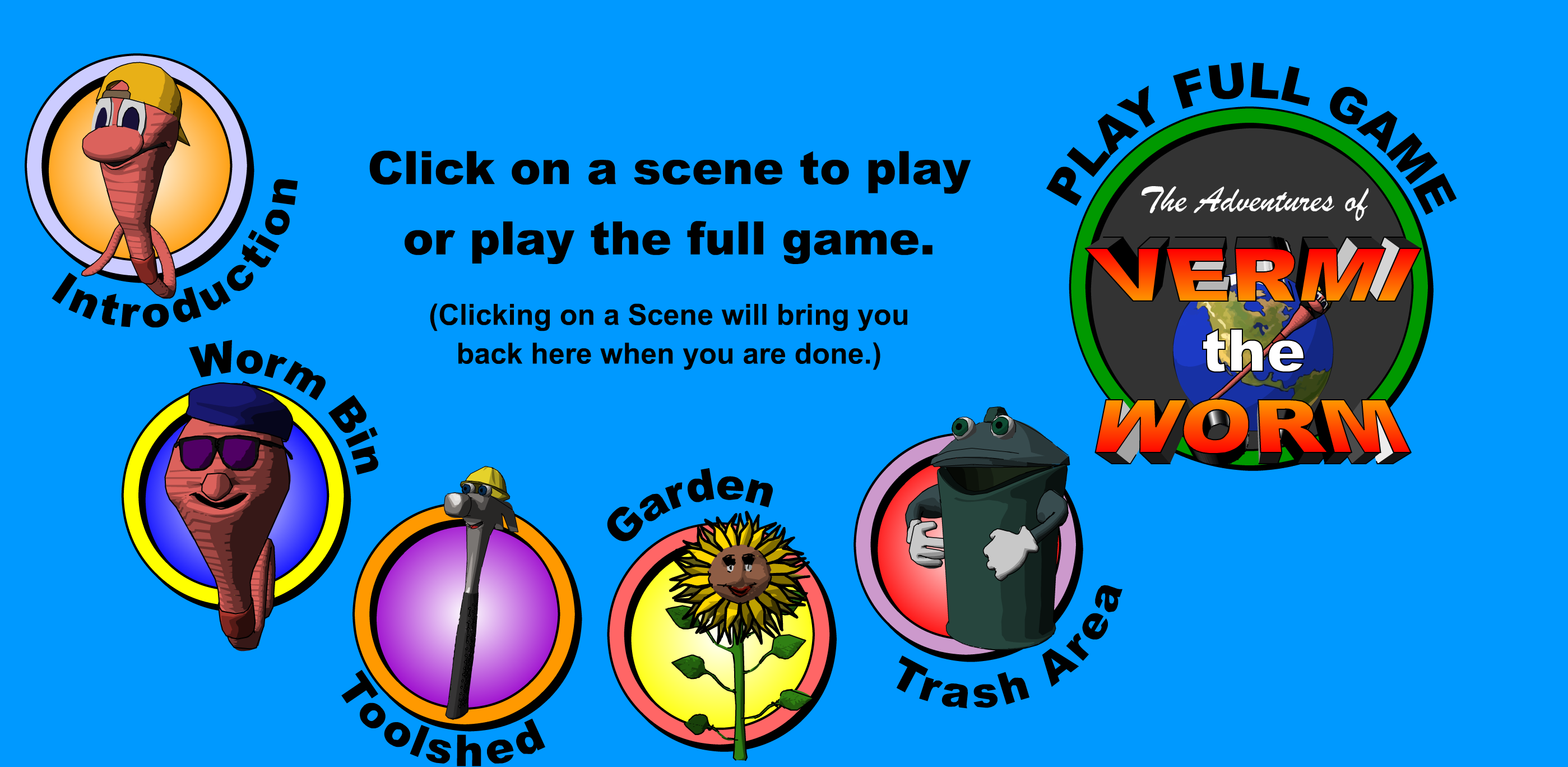 Vermi The Worm Game To Teach Kids About Composting