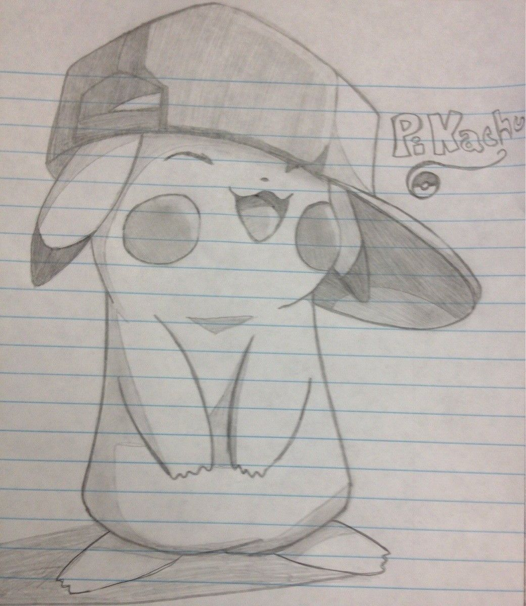 cute pikachu to draw when bored cool drawing ideas