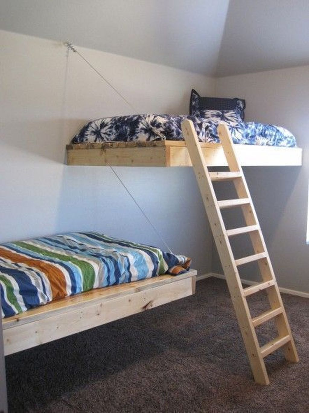48 Cozy Floating Bed Design Ideas For Sleeping Like In The