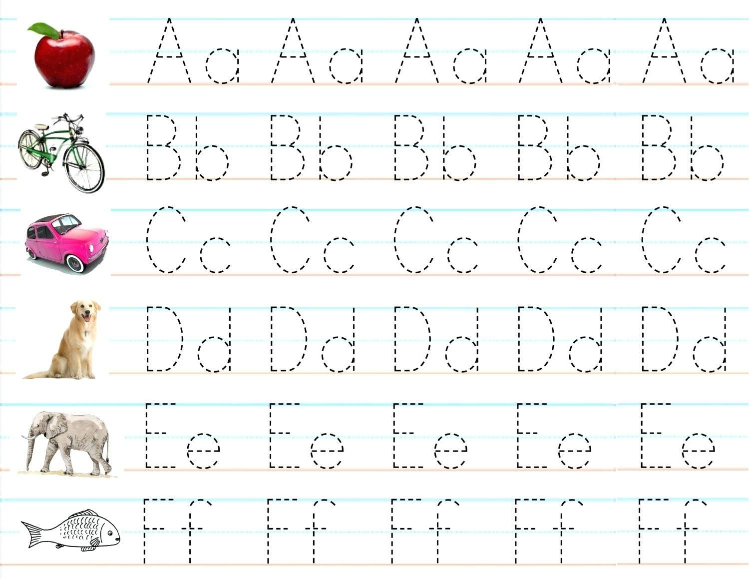 Practice Writing Letters Worksheet In