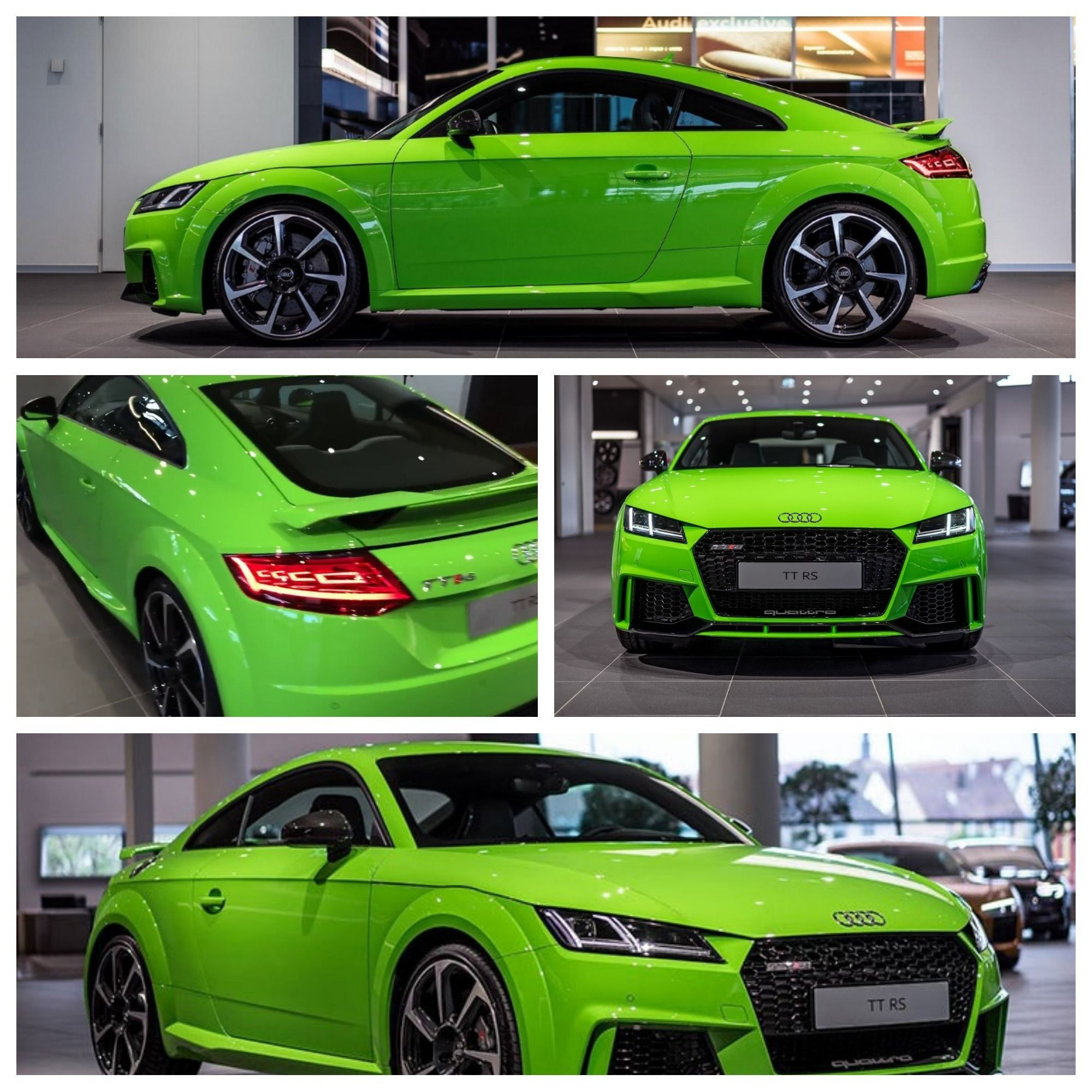 Green 2017 Audi TT RS