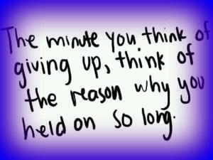 keep holding on.. ;)
