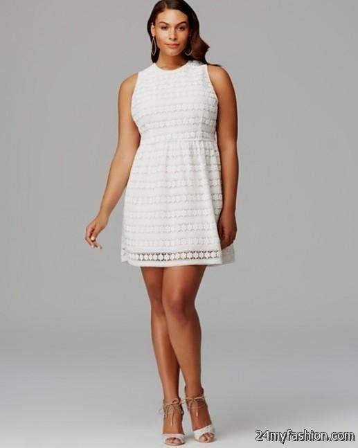 white skater dress plus size 2016-2017 » B2B Fashion   Vetements ...