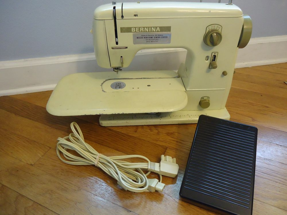 Vintage Bernina 40 Sewing Machine W Power Cord Pedal Cool Fascinating Sewing Machine Mechanic Jobs In Cape Town