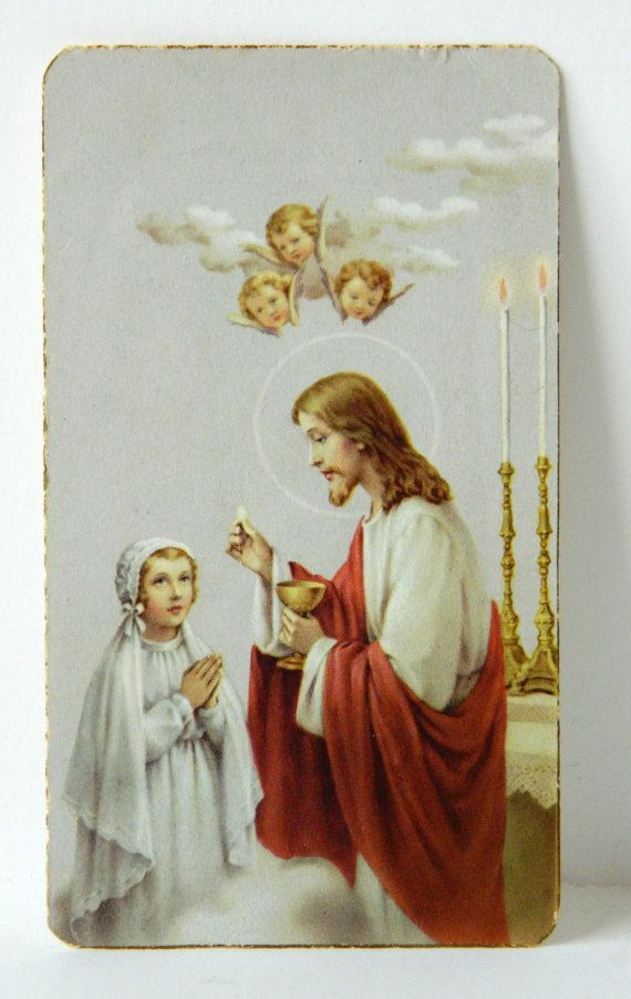 Remembrance of My First Holy Communion for Girls