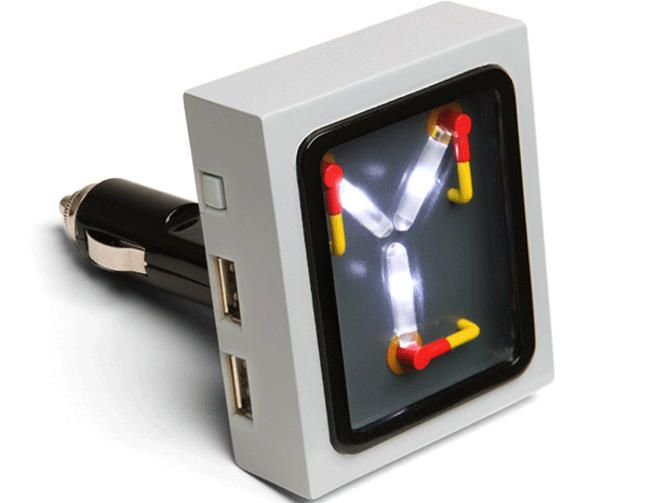 Flux Capacitor charger turns any ride into a DeLorean time machine - CNET Like…
