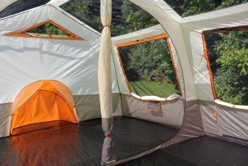 Amazon.com Tahoe Gear Ottawa 12 Person Cabin Frame Family Tent Sports u0026 & Amazon.com: Tahoe Gear Ottawa 12 Person Cabin Frame Family Tent ...