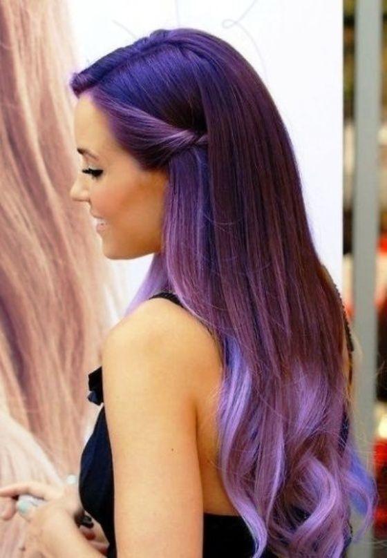 I also want her hair colour so badly I love the colour purple xxx