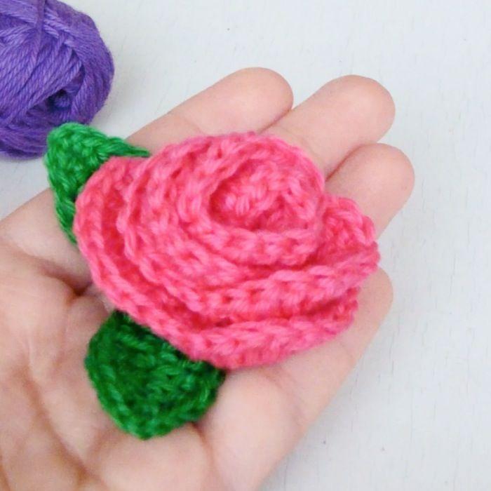 como tejer rosas a crochet ganchillo | Crochet Flowers ...