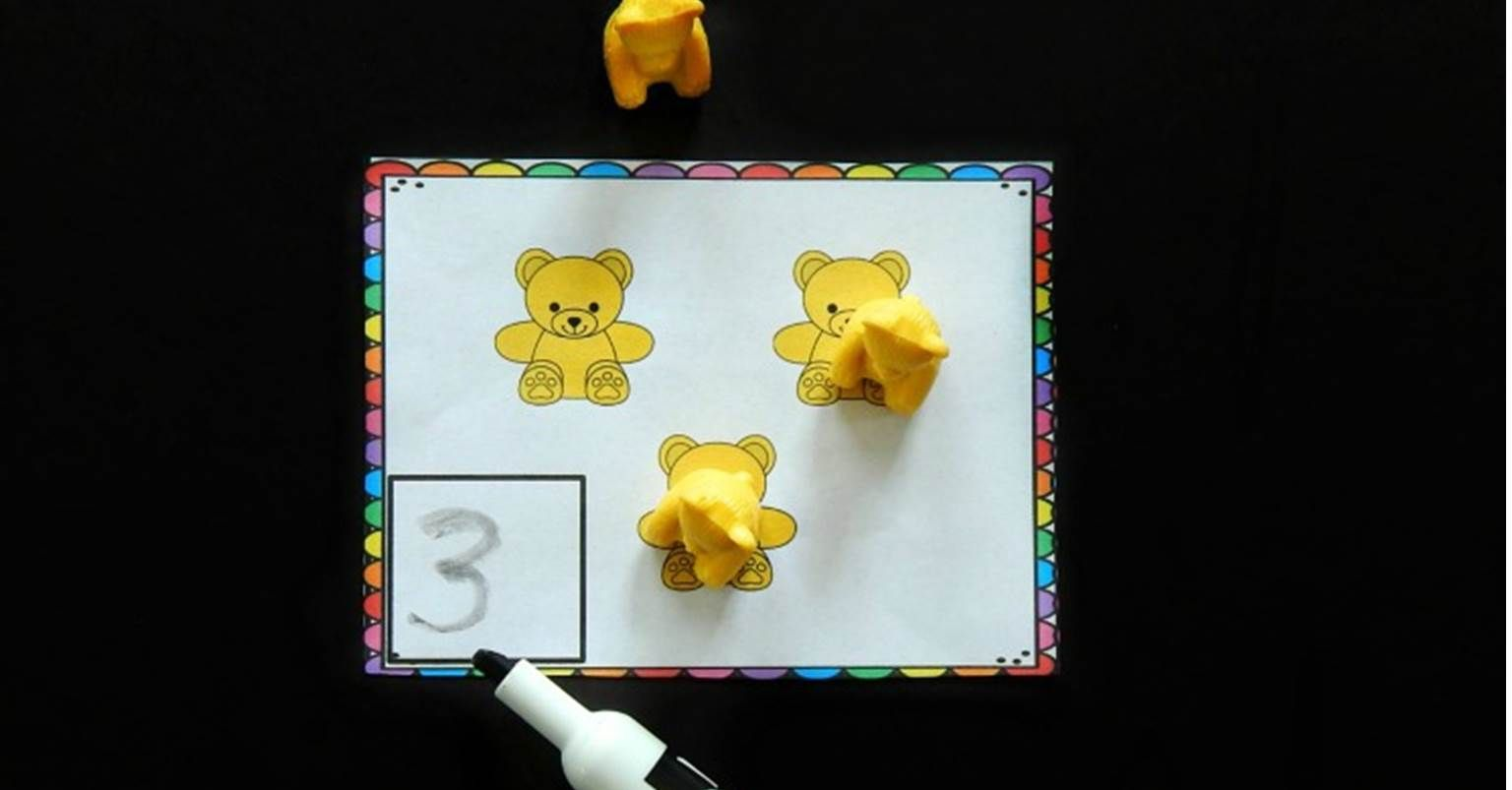 Counting Bear Counting Cards