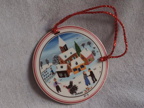 CLEARANCE 25 OFF Christmas Ornament Villeroy and Boch - Number 2