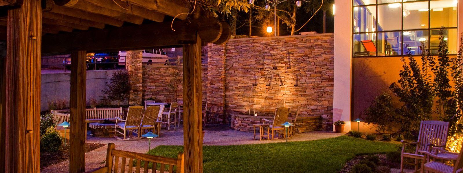Visit the teak garden at the Hampton Inn in Wheeling, WV! | Our ...