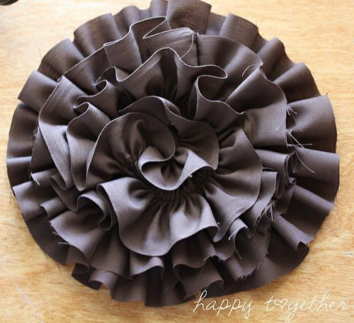 Ruffled Rosette I Just Bought One With Cheetah Fabric