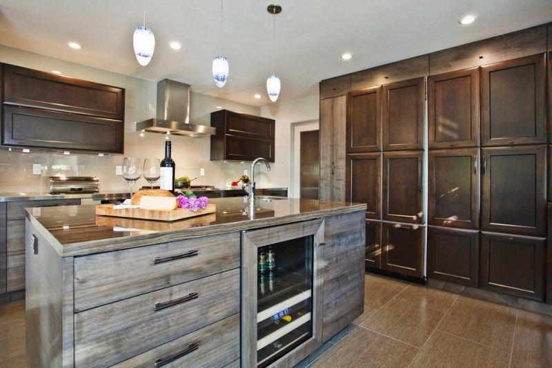Cuisine rustique contemporaine\u2013 50 idées de meubles en bois Products
