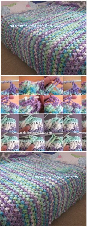 Interweave Cable Celtic Stitch (Blanket | Cable, Puntadas y Manta