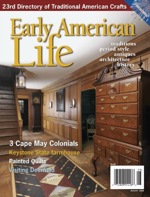 Eal Aug08 Early American Life August 2008 American