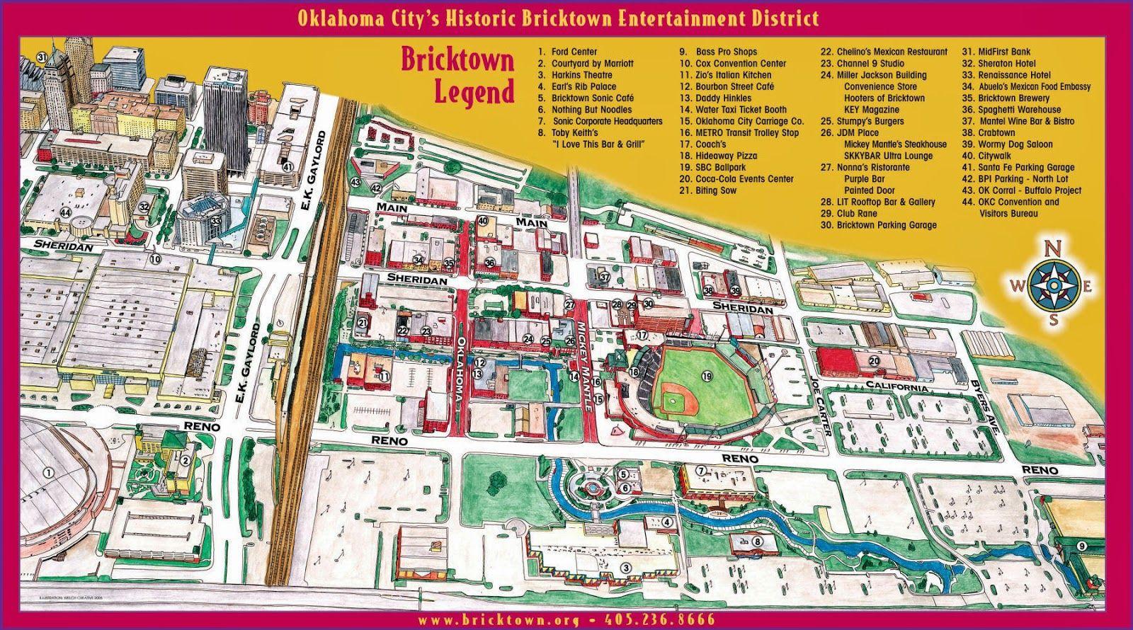 Carless In Okc Won T You Take Me To Bricktown Oklahoma City Entertainment District Oklahoma