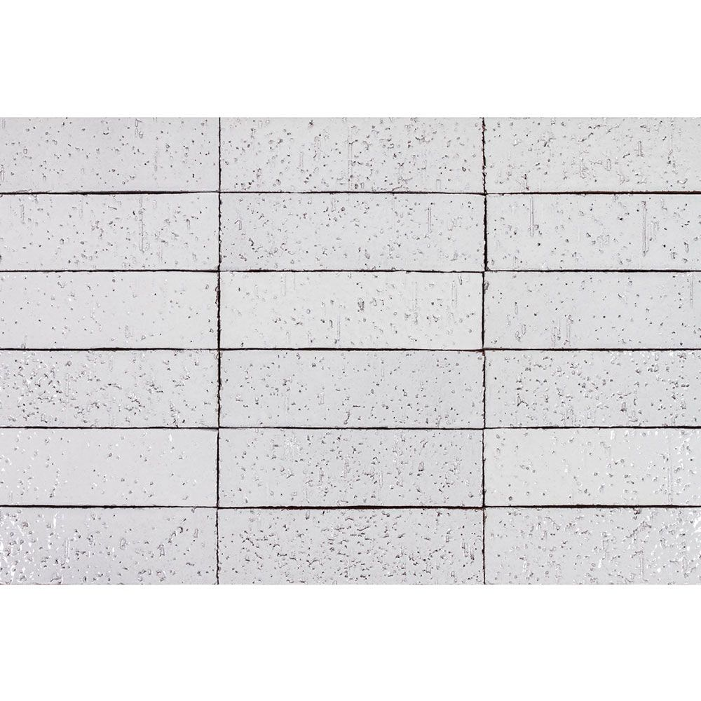 2x8 Glazed Brick Pure White Glazed Brick Glazed Brick Tiles Brick Tiles