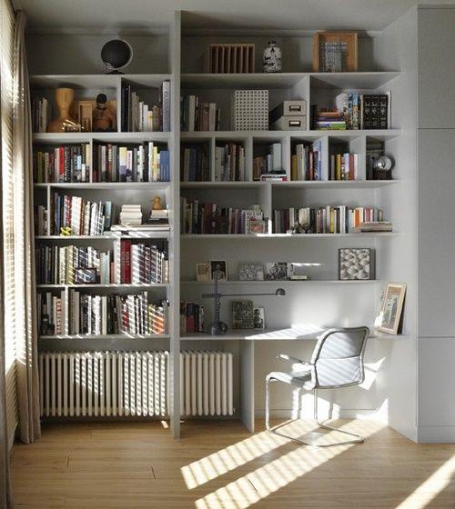 built-in desk   Home   Pinterest   Regal, Haus und Wandboard