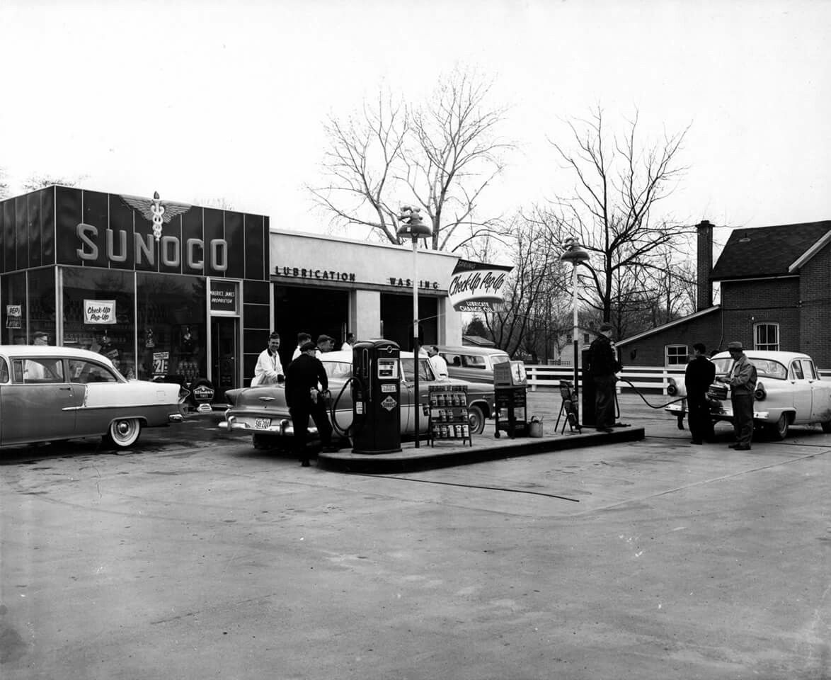 Old gas stations by Thugwrench on Vintage gas Gas