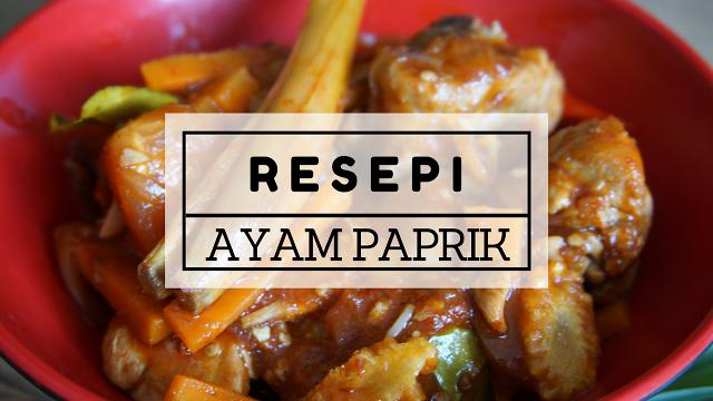 Resepi Paprik Ayam Mudah Dan Sedap Video Malaysian Food Recipes Food