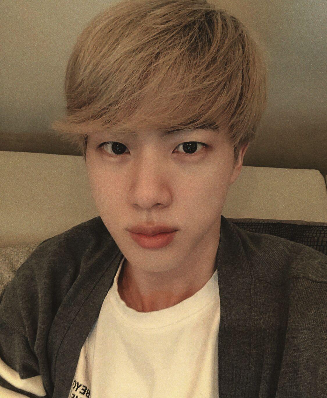 Seokjin Jin Bts Bangtanboys Korean Kpop Idol Selca Seokjin Bangtan Boys Kpop