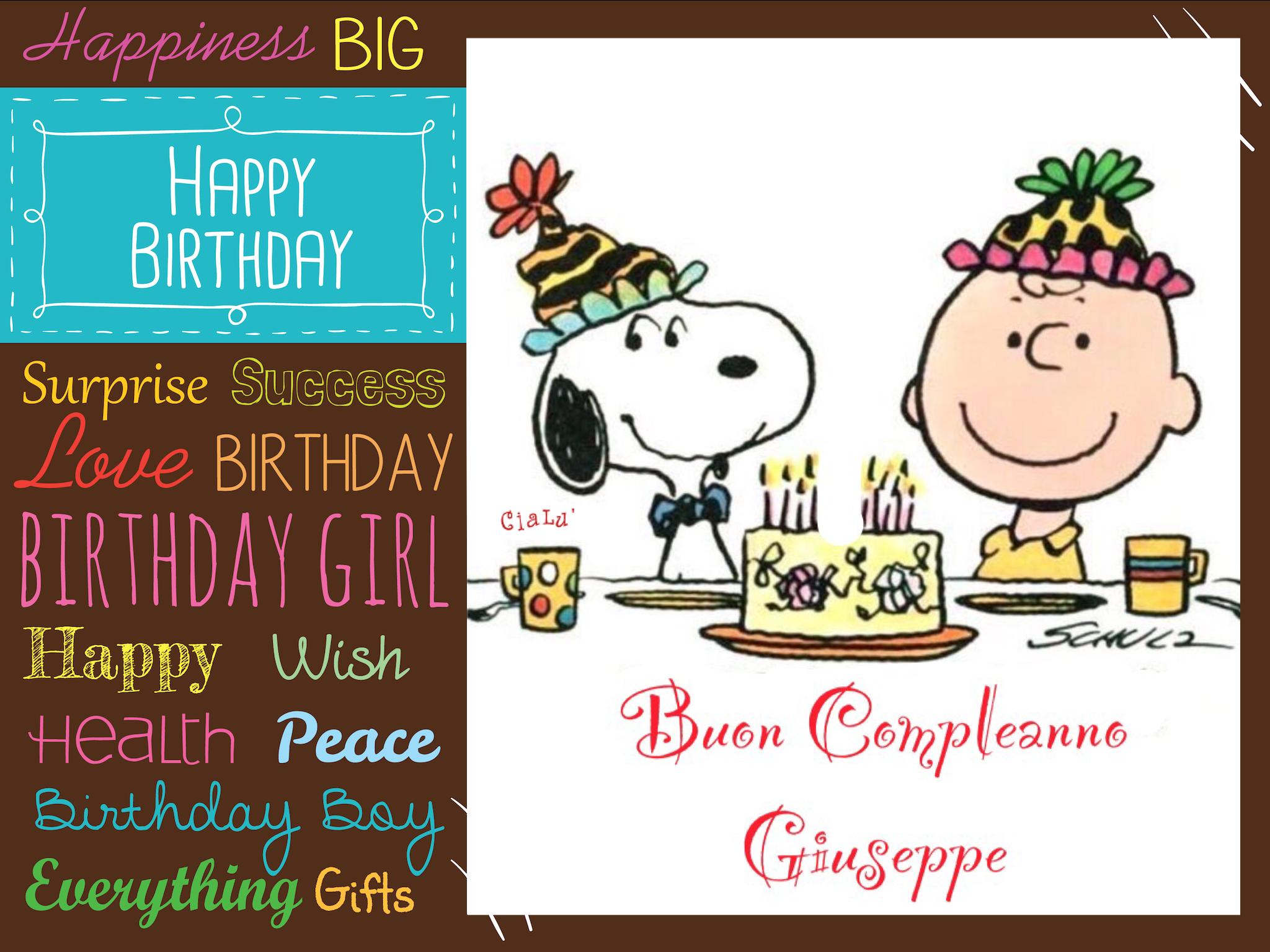 Compleanno Giuseppe | Compleanni Onomastici e Anniversari