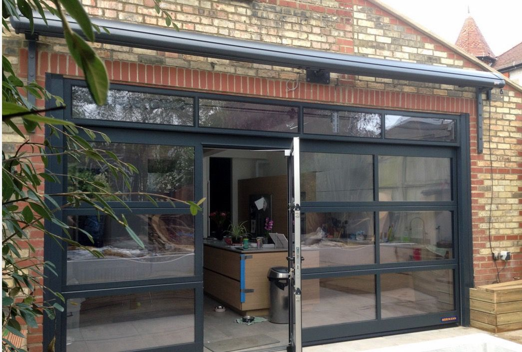 Abi Install Hormann Sectional Garage Doors At Manchesters Alberts