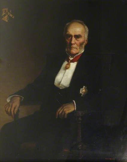 """Ralph Robert Wheeler (1819–1905), Lord Lingen"", 1896, by George Percy Jacomb-Hood (British, 1857-1929)."