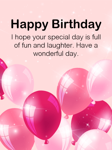 Send Free Birthday Cards For Her To Loved Ones On