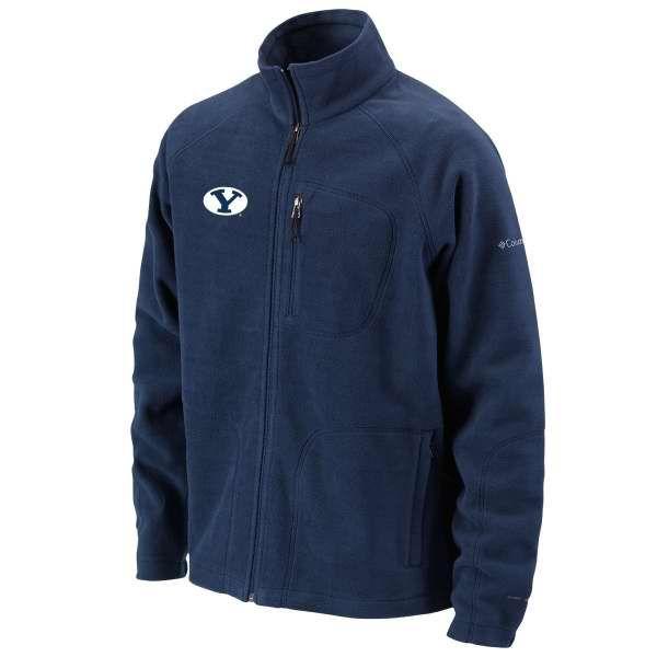 huge selection of 324b7 1f998 BYU Bookstore - Columbia Sportswear Omni-Heat Oval Y Full-Zip BYU Fleece  Jacket