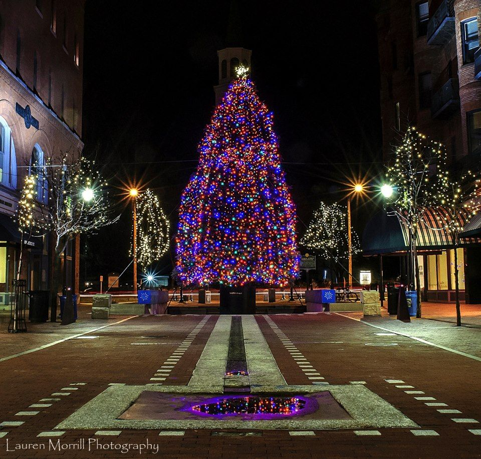 Annual Tree Lighting On Church Street Fourth Friday Of