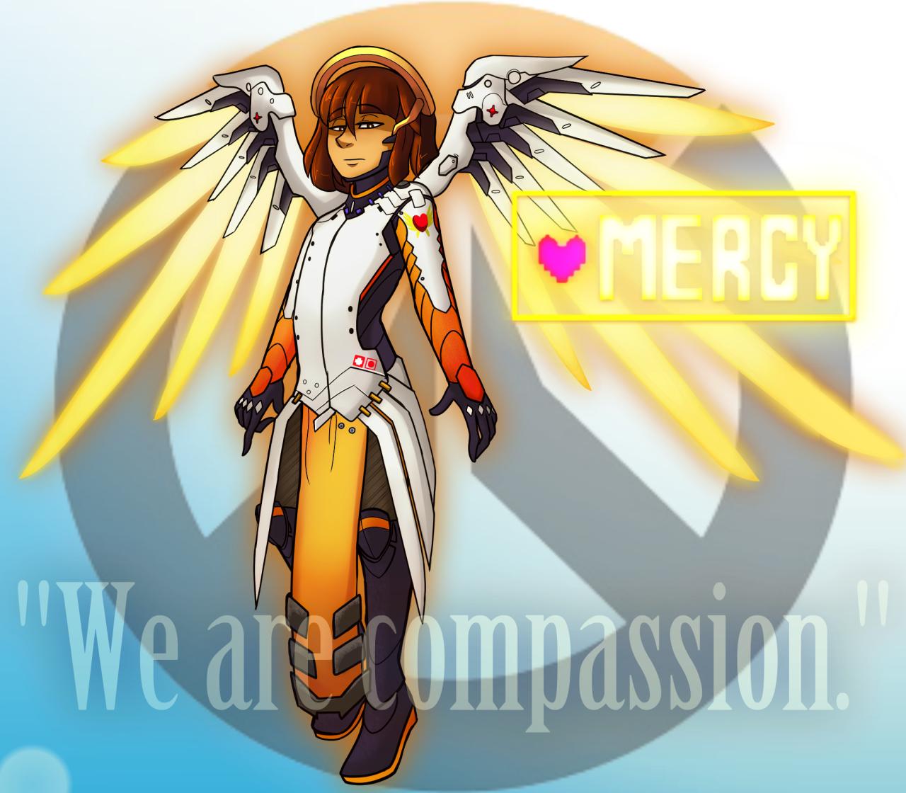 frisk #mercy #undertale #overwatch #crossover | Crossover ...