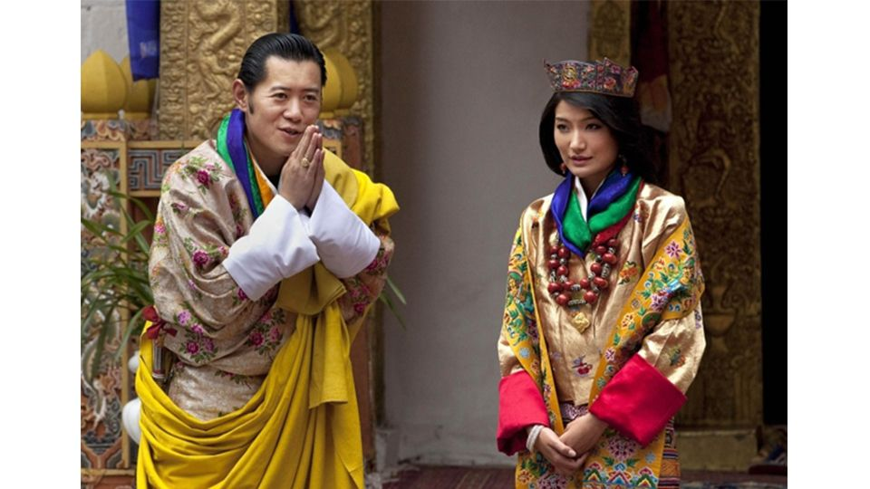 10 Things Bhutan People Do Differently That Make Them The Happiest People Royal Wedding Bhutan Fashion