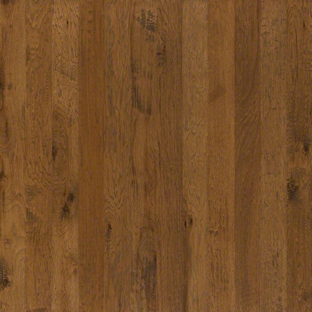 Hardwood Pebble Hill Hickory 5 - SW219 - Warm Sunset - Flooring by Shaw