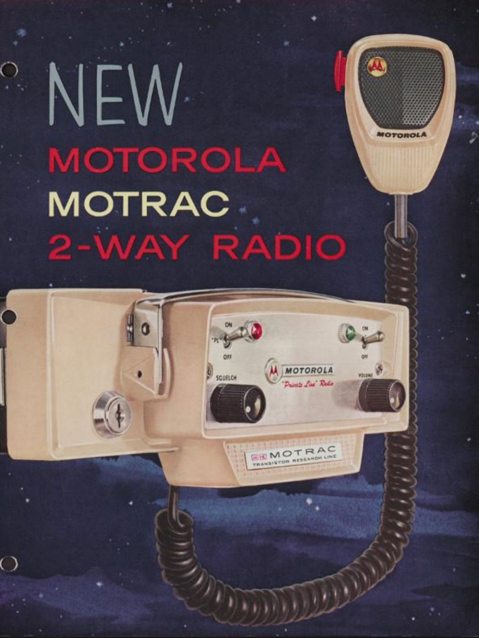 Vintage Motorola print add. It was once Hi Tech for public
