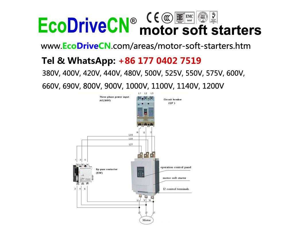 Ecodrivecn Motor Soft Starters 380 Vac 400 Vac 44 Starters
