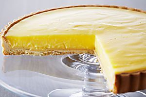 Cocina la receta Tarta de limón (Tart au citron) de Anna Olson