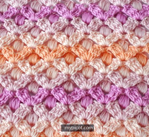 MyPicot | Free crochet patterns | Muestras | Pinterest | Puntadas ...