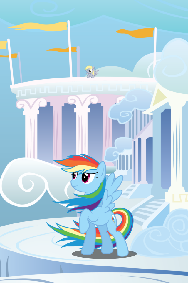 Rainbow Dash Wallpaper Iphone My Little Pony Wallpaper Rainbow Dash Iphone Wallpaper