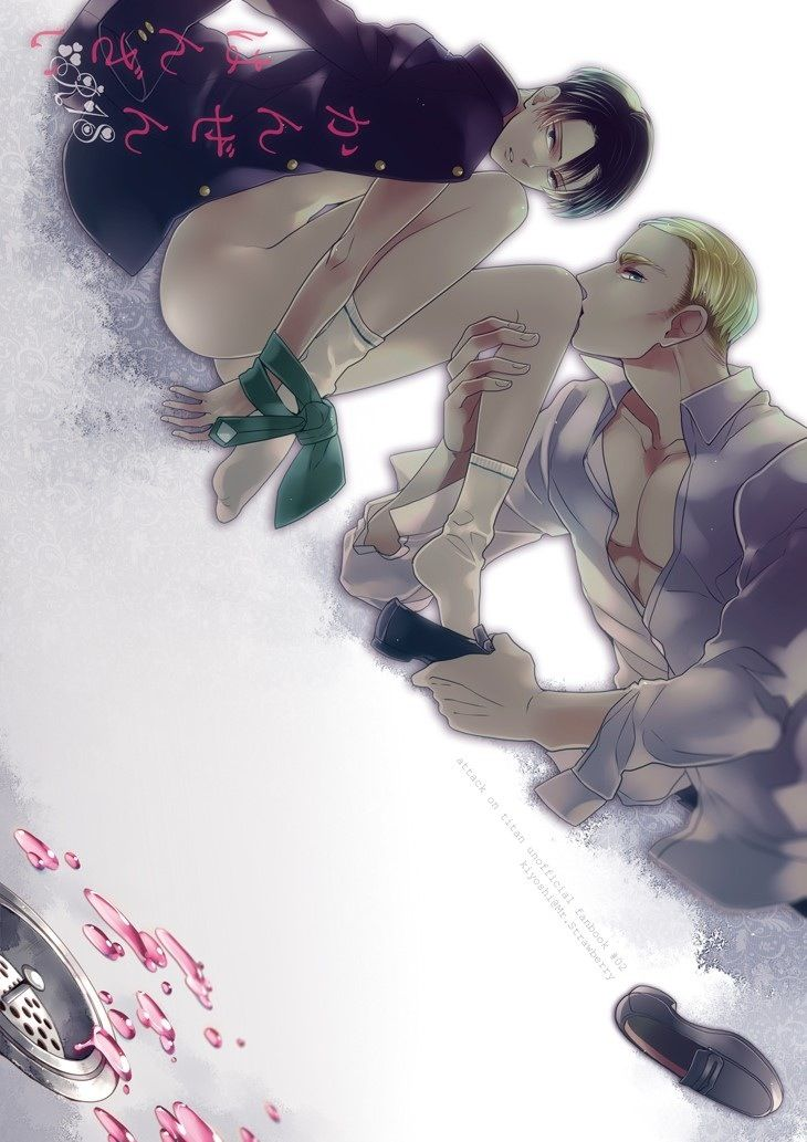 Erwin Smith x Rivaille (Levi)