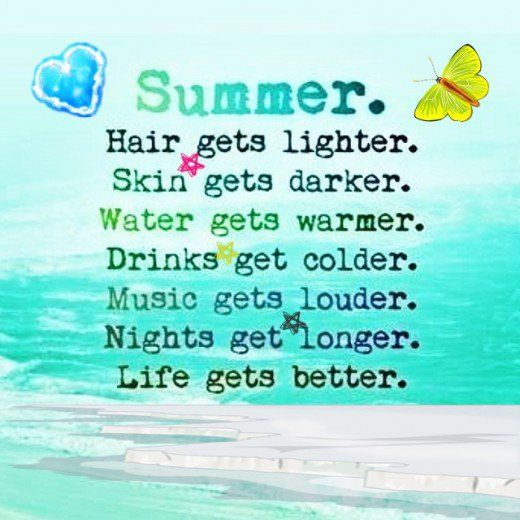 Cute Summer Quotes & Captions for Instagram | Cute summer ...
