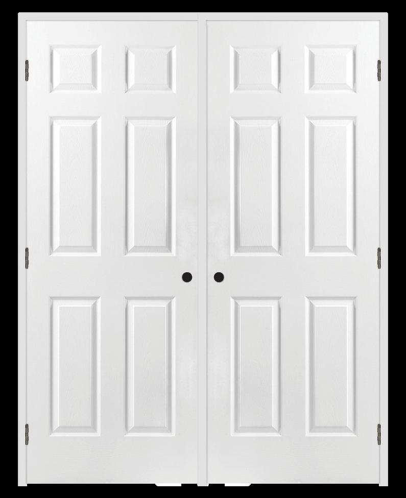 Prehung Doors Interior French Double Closet Bathroom