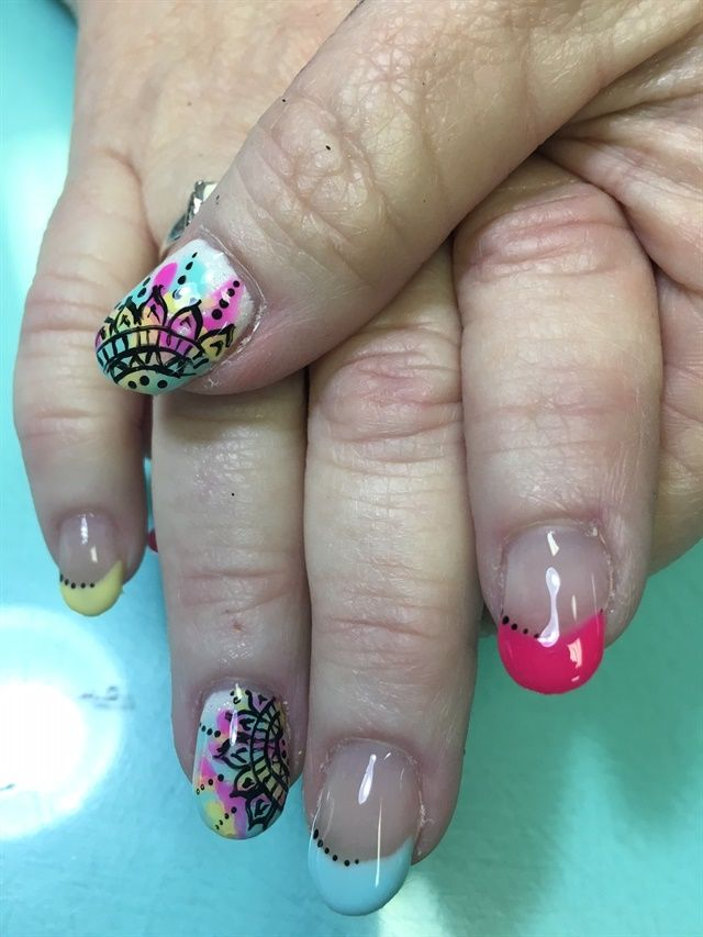 2 384 Likes 9 Comments Riya 39 S Nails Salon Riyathai87 On Instagram Happy Birthday Tiana Iyasnailsalon 22080 Lora Long Nail Art Nails Pretty Nails