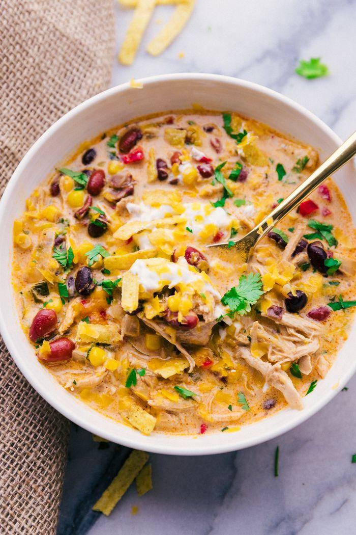 Chicken Tortilla Soup Crock Pot - A Dash of Sanity