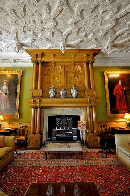 Inside House Drawing: The South Drawing Room At Blickling Hall, Shows The