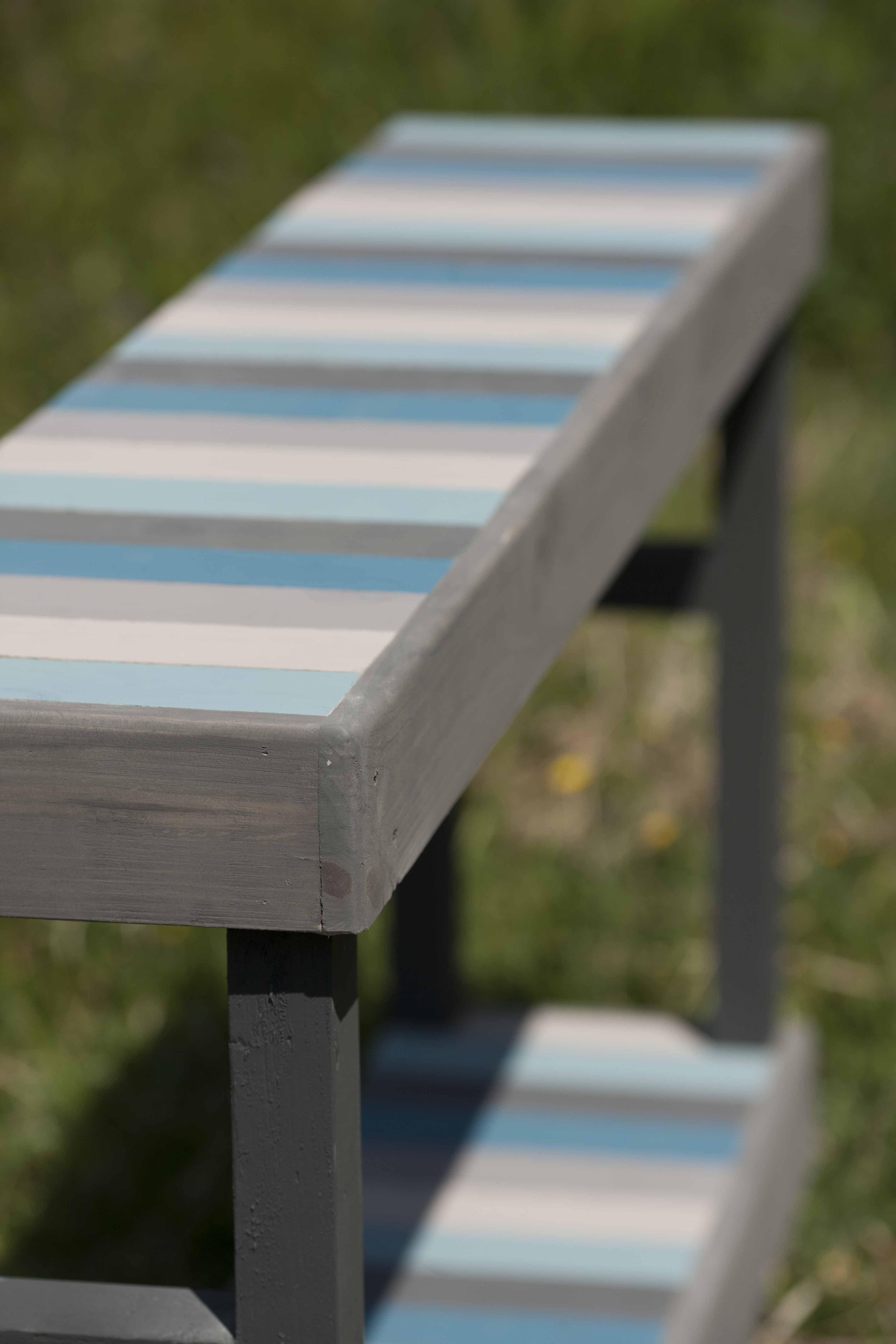 Mueble recibidor realizado con madera reciclada for Mueble realizado con palet de madera